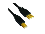 Кабели VCom кабел USB 2.0 AM / BM High Grade GOLD - CU201G-B-3 метра